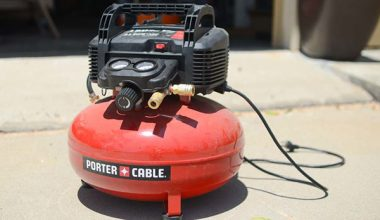 porter cable pancake air compressor
