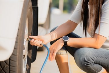 How to Inflate Car Tires at Home